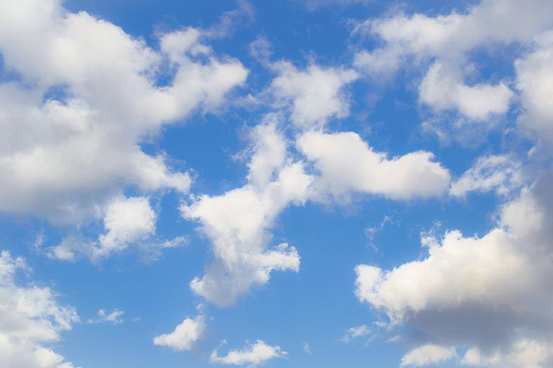 небо с облаками. фото