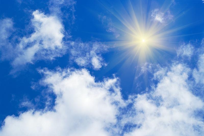 Как на сделать небо ярче