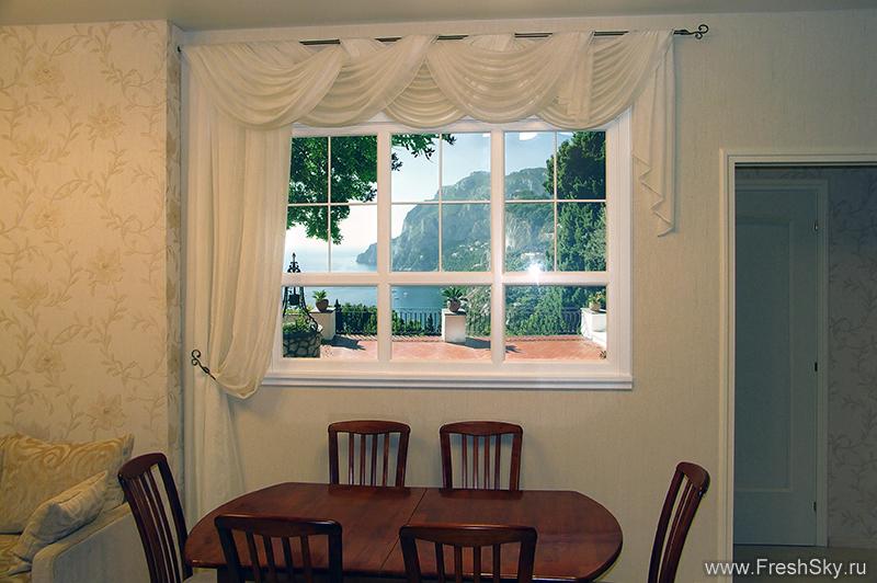 Фальш окно заказать в спб какой герметик лучше для пластиковых окон внутри